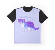 """""""Focus on Moving Forward"""" Tiger Graphic T-Shirt"""