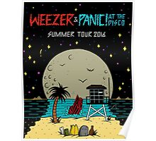 WEEZER SUMMER TOUR 2016 Poster