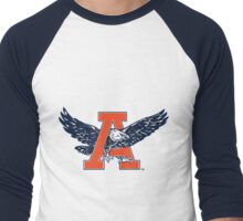 Auburn Retro Eagle Men's Baseball ¾ T-Shirt