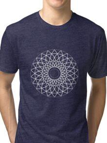 Geometric Petals Tri-blend T-Shirt