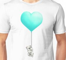 Polar Bear Balloon  Unisex T-Shirt