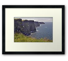 Cliffs of Moher - County Clare - Ireland Framed Print