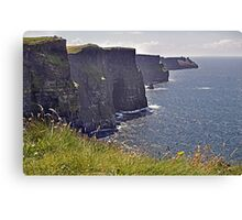 Cliffs of Moher - County Clare - Ireland Canvas Print