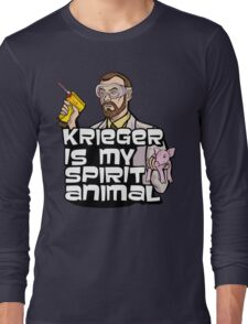 Krieger is my Spirit Animal Long Sleeve T-Shirt