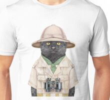 Safari Cat Unisex T-Shirt