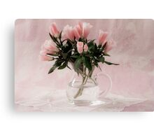 Godetia Bouquet Canvas Print
