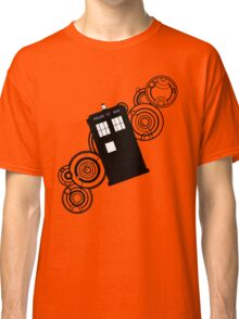 doctor who tardis r Classic T-Shirt
