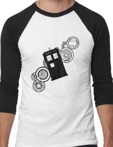 doctor who tardis r Men's Baseball ¾ T-Shirt