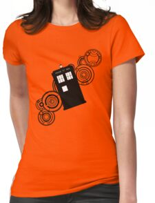 doctor who tardis r Womens Fitted T-Shirt