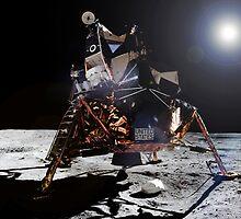 Apollo 11 Lunar Module by Jacob Thomas