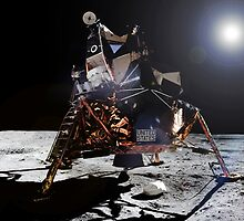 Apollo 11 Lunar Module by Jacob Thomas