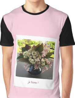 Polaroid je t aime Graphic T-Shirt