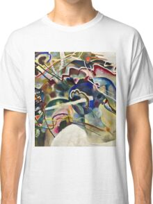 Vassily Kandinsky - Painting With White Border Moscow  Classic T-Shirt