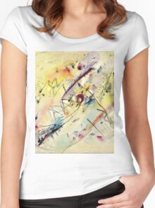 Vassily Kandinsky - Light Picture  Women's Fitted Scoop T-Shirt