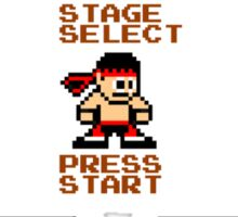 8-bit Mortal Kombat 'Megaman' Stage Select Screen Sticker