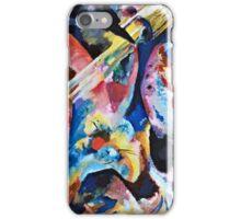 Vassily Kandinsky - Improvisation Deluge1913  iPhone Case/Skin