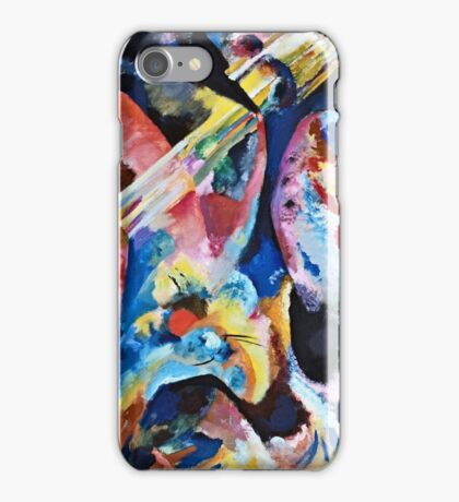 Vassily Kandinsky - Improvisation Deluge1913  iPhone Case/Skin