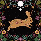The Jackalope Rides at Midnight  by CarlyWatts