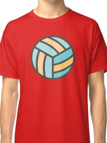 Volleyball Art Icon Classic T-Shirt