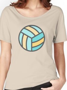 Volleyball Art Icon Women's Relaxed Fit T-Shirt
