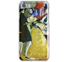 Vassily Kandinsky - Group In Crinolines  iPhone Case/Skin