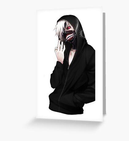 Kaneki ken- Tokyo ghoul Greeting Card