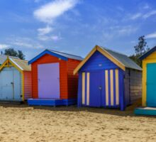 Brighton Beach Houses, Melbourne Sticker