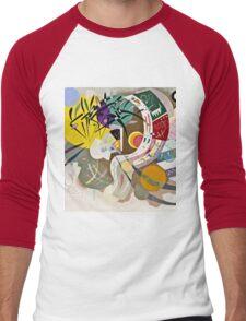 Vassily Kandinsky - Dominant Curve  Men's Baseball ¾ T-Shirt