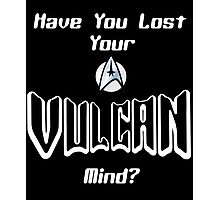 Vulcan Mind Photographic Print