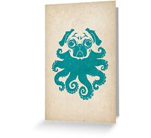 octopug Greeting Card