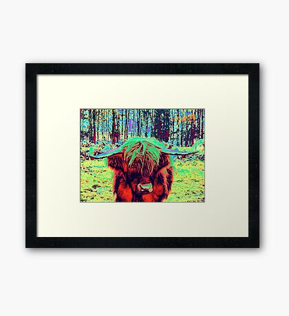 Brightening Up A Dull Day Framed Print