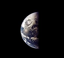 Earth From Apollo 13 by JacobT14