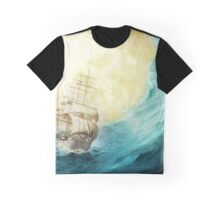Through Stormy Waters Graphic T-Shirt