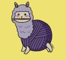 Yarn Alpaca - Purple Kids Clothes