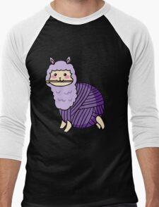 Yarn Alpaca - Purple Men's Baseball ¾ T-Shirt