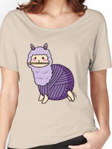 Yarn Alpaca - Purple Women's Relaxed Fit T-Shirt
