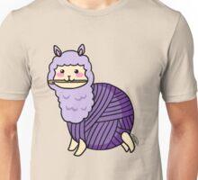 Yarn Alpaca - Purple Unisex T-Shirt