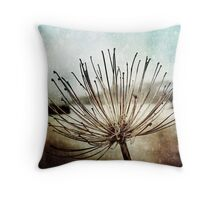 Alone in the Harbour Throw Pillow