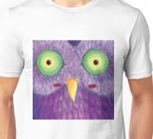 Purple Hoot Unisex T-Shirt