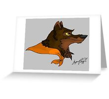 balto Greeting Card