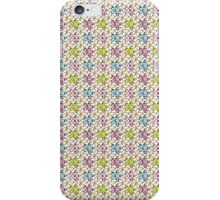 Cute & Colorful Abstract Flowers Pattern Design iPhone Case/Skin
