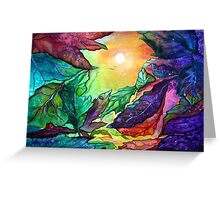 Colours of Sunshine  Greeting Card