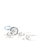Parisian Letter with Postmark by cinn