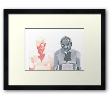 Two Form Framed Print