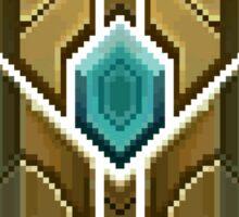 Mastery rank pix-elated Sticker
