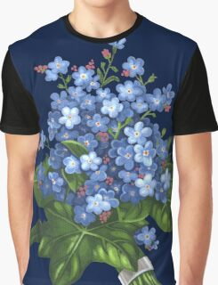 Forget-me-not - acrylic Graphic T-Shirt