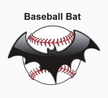 Baseball Bat Flying Bat One Piece - Long Sleeve