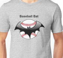 Baseball Bat Flying Bat Unisex T-Shirt