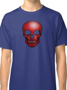 Red Skull Pattern Classic T-Shirt