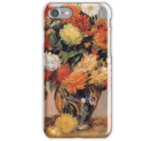 Renoir Auguste - Vase Of Flowers iPhone Case/Skin